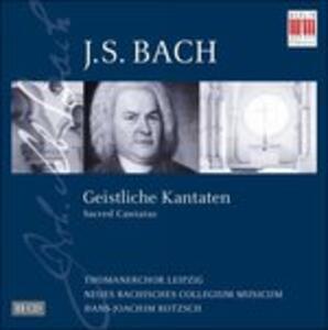Geistliche Kantaten - CD Audio di Johann Sebastian Bach
