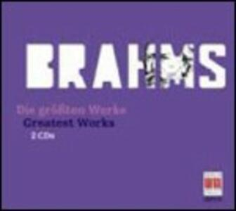 The Greatest Works - CD Audio di Johannes Brahms