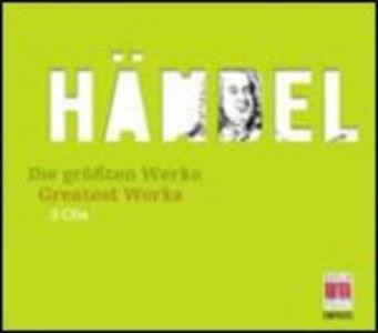 The Greatest Works - CD Audio di Georg Friedrich Händel