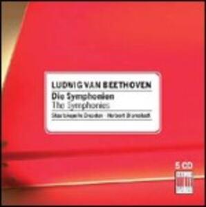 Le sinfonie - CD Audio di Ludwig van Beethoven,Staatskapelle Dresda,Herbert Blomstedt