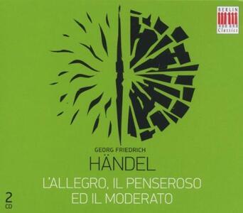 Allegro, Il Penseroso Ed Il Moderato - CD Audio di Georg Friedrich Händel