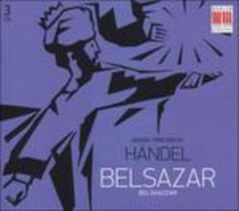 Belsazar - CD Audio di Georg Friedrich Händel