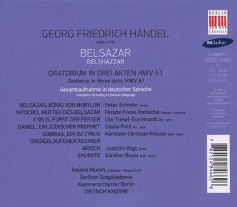 Belsazar - CD Audio di Georg Friedrich Händel - 2