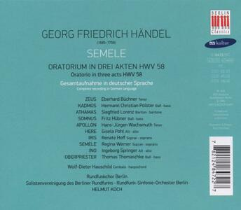 Semele - CD Audio di Georg Friedrich Händel - 2