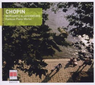 Brani famosi per pianoforte - CD Audio di Fryderyk Franciszek Chopin