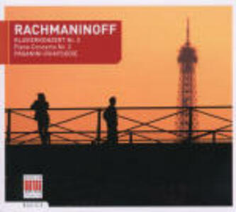 Concerto per pianoforte n.2 - Rapsodia su un tema di Paganini - CD Audio di Sergej Vasilevich Rachmaninov,Kurt Sanderling,Boston Symphony Orchestra