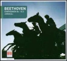 Sinfonie n.1, n.3 - CD Audio di Ludwig van Beethoven,Herbert Blomstedt