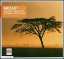 Concerto per clarinetto - Sinfonia concertante - CD Audio di Wolfgang Amadeus Mozart