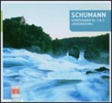 Sinfonie n.2, n.3 - CD Audio di Robert Schumann,Franz Konwitschny