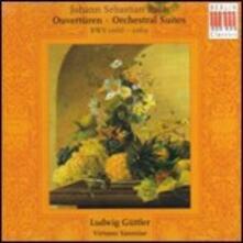 Suites per orchestra n.1, n.2, n.3, n.4 - CD Audio di Johann Sebastian Bach