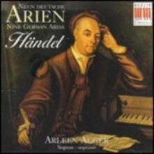 9 Arie tedesche - CD Audio di Georg Friedrich Händel