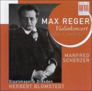 Concerto per Violino - CD Audio di Max Reger