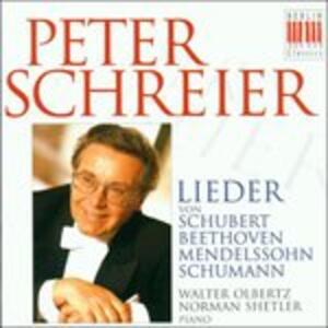 Lieder - CD Audio di Ludwig van Beethoven,Franz Schubert,Felix Mendelssohn-Bartholdy