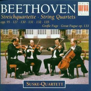 Quartetti per Archi Op 95, 12 - CD Audio di Ludwig van Beethoven