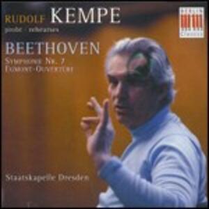 Sinfonia n.7 - Ouverture Egmont - CD Audio di Ludwig van Beethoven,Rudolf Kempe