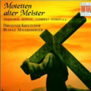 Motetten alter Meister - CD Audio