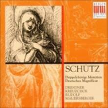 Mottetti a Due Cori - Magnificat - CD Audio di Heinrich Schütz,Rudolf Mauersberger