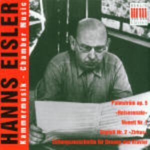 Musica da camera - CD Audio di Hanns Eisler