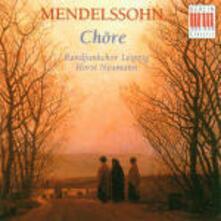 Cori - CD Audio di Felix Mendelssohn-Bartholdy