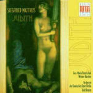 Judith - CD Audio di Siegfried Matthus