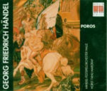 Poros - CD Audio di Georg Friedrich Händel