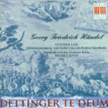 Dettinger Te Deum - CD Audio di Georg Friedrich Händel,Radio Symphony Orchestra Berlino,Helmut Koch