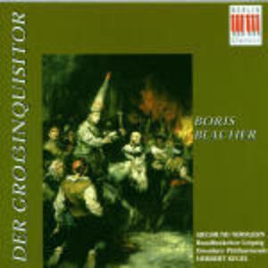 Der Grossinquisitor - CD Audio di Siegmund Nimsgern,Herbert Kegel,Boris Blacher