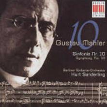Sinfonia n.10 - CD Audio di Gustav Mahler,Kurt Sanderling,Berliner Symphoniker