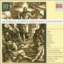 Opere sacre - CD Audio di Heinrich Schütz,Dresdner Kreuzchor
