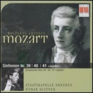 Sinfonie n.39, n.40, n.41 - CD Audio di Wolfgang Amadeus Mozart,Staatskapelle Dresda,Otmar Suitner