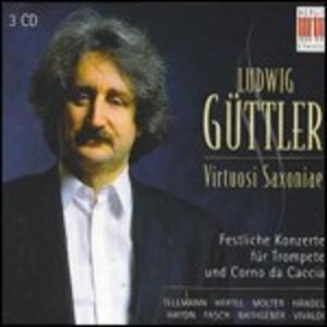 Concerti per tromba e corno da caccia - CD Audio di Ludwig Güttler,Virtuosi Saxoniae