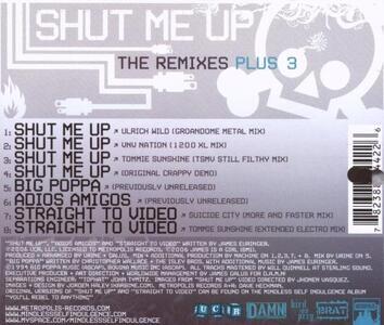 Shut Me Up - CD Audio Singolo di Mindless Self Indulgence - 2