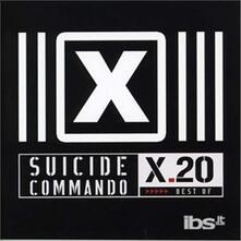 X20 -Best of - CD Audio di Suicide Commando