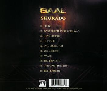 Shurado - CD Audio di Baal - 2