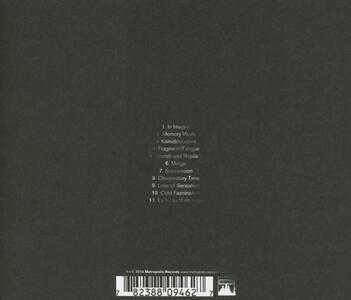 Memory Work - CD Audio di Vaniish - 2