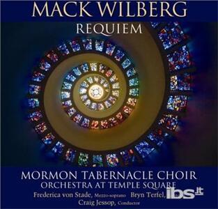 Mack Wilberg. Requiem - CD Audio di Mormon Tabernacle Choir