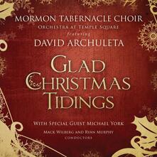 Glad Christmas Tidings - CD Audio di Mormon Tabernacle Choir