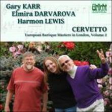 Sonate nn.1-6 op.1 - CD Audio di Giacobbe Basevi Cervetto