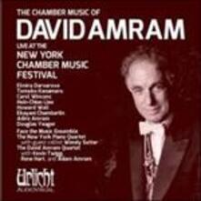 David Amram Chamber Music - CD Audio di David Amram,Elmira Darvarova