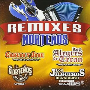 Remixes Nortenos - CD Audio