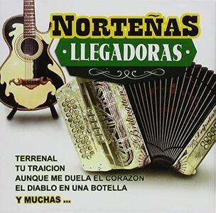 Nortenas Llegadoras - CD Audio