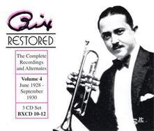 Vol. 4-Bix Restored - CD Audio di Bix Beiderbecke