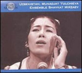 Uzbekistan. The Haunting Voice - CD Audio di Monajat Yultchieva