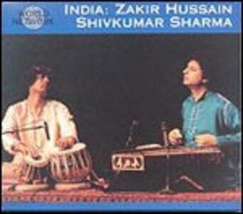 India. Raga Purya Kalyan - CD Audio di Zakir Hussain,Shivkumar Sharma