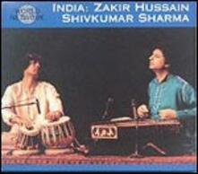 India. Raga Purya Kalyan - CD Audio di Zakir Hussain,Shivkumar Sharma