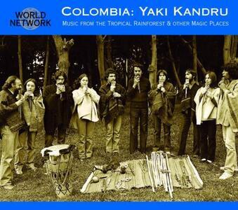 Music from the Tropical Rainforest - CD Audio di Yaki Kandru