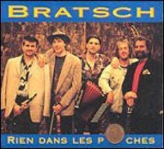 Rien Dans Les Poches - CD Audio di Bratsch