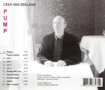 Pump - CD Audio di Cees van Zeeland - 2