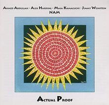 Nam Actual Proof - CD Audio