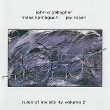Rules of Invisibility vol.2 - CD Audio di John O'Gallagher